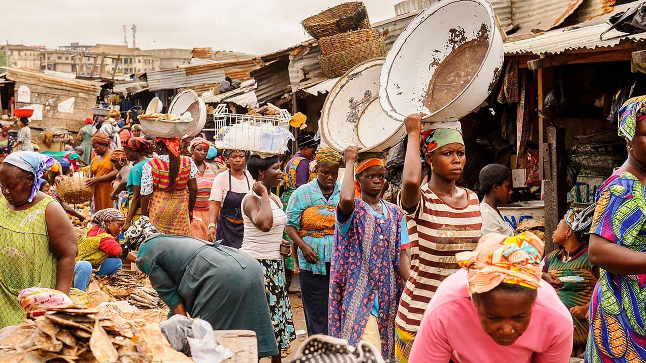 THE MARKET by Salami Adejoke